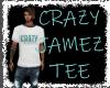 CrazyJamez  tee