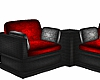 Red/Black Corner Seats