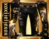 [L] WOLF GOLD Pants M