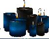 ~Z Xmas blue candles
