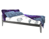 Bed with Jaquard Prints