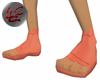 Peach Ninja Shoes