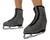 grey ice skates