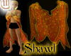 Shawl for Men - Orange