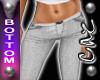  CAZ [R] Jeans White