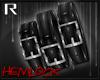 H3M: BLK Wrist Straps R