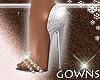 white heels - bridal