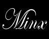 Minx Name White