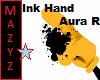 Ink Hand Aura Right