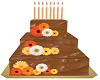 Chocolate HBDay Cake