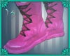 (IS) Old Pink Boots