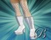 [B]silver platform boots