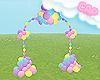 .C MLP Balloon Arch 1