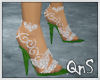 QnS Diamond Emerald Shoe