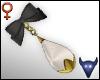 Bead bow earrings V2 (f)