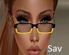 Nerdy Glasses-Fendi