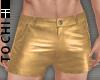 #T Rio Shorts #Gold