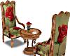 Rose Coffee Chairs Anim