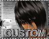 CcC custom 3 hair black