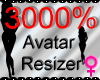 *M* Avatar Scaler 3000%