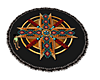 Black Native Rug