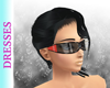 Red Spiked Sunglasses