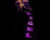 Angel Chaps Purple N Blk