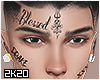 RH. Face Tattooes