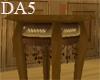 (A) Wood Tudor Stand