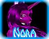 N! Pvc Pony Violet ears