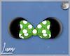 𝕯| Minnie Ears Green