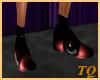 ~TQ~red Xmas shoes