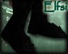 E~ Black armor boots