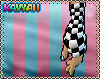 Checkered armwarmers