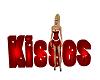 Valentines Kisses Sign