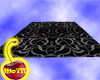 Black Swirl Rug