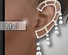 Mel*Eliana Wedd. Earring