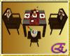[E]Criollo Dinning Set