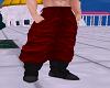 Fighter Hakama Red