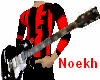 Punk Red Guitar