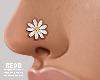 Flower nose stud