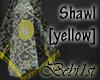 [Bebi] Ajah Shawl Yellow