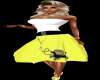50's Yellow Poodle Skirt