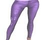 Purple Paw Print Pants