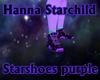Star Shoes Purple