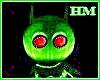 Little Green Martion