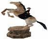 Animated Horse Statue