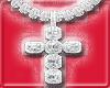Baguette Cross Chain