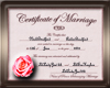 Nick & Amber Certificate