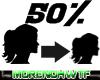 Scaler 50% Head Female